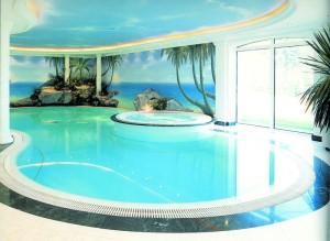 piscina di lusso